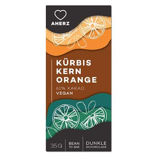 Kürbiskern Orange Vegan